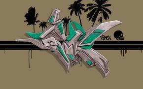 Картинка Рисунок, Граффити, Graffiti, FireX, Скетч