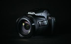 Картинка макро, камера, Nikon