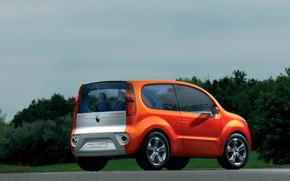 Обои Renault, концепт, Kangoo, компакт
