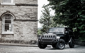Картинка черный, джип, Project Kahn, Black, Wrangler, Jeep, вранглер