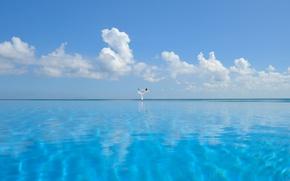 Картинка море, йога, мальдивы, багамы, сейшелы