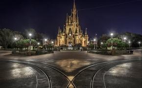 Обои парк, замок, photo, photographer, Disneyland, Greg Stevenson, диснейленд