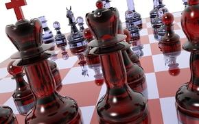 Обои шахматы, доска