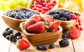 Картинка strawberry, смородина, голубика, чашка, ягоды, berries, fresh, ежевика, клубника