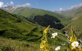 Картинка горы, долина, Турция