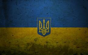 Картинка синий, жёлтый, страны, голубой, текстура, символы, знаки, флаги, текстуры, символика, страна, гербы, украина, flags, ukraine