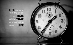 Картинка old, black and white, time, clock, allarm