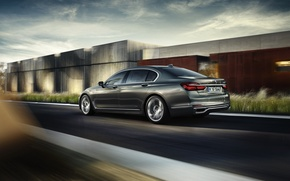 Картинка бмв, BMW, 750Li, xDrive, 2015, Excellence, G12, Design Pure