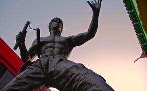 Картинка памятник, легенда, Bruce Lee, Брюс Ли