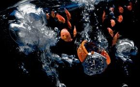 Картинка вода, Часы, Omega, Seamaster, 1200M, Ploprof
