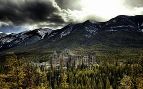 Картинка Banff National Park, Alberta, Canada, Banff Springs Hotel
