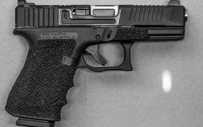 Картинка пистолет, Glock 19, Mark 1, SG Finish