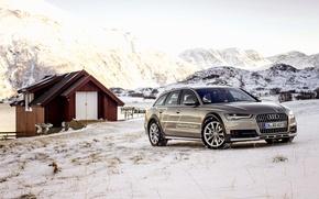 Картинка Audi, ауди, TDI, concept, quattro, кватро, Avant, 2015, авант