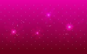 Картинка звезды, цветы, узор, текстура
