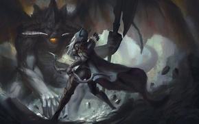 Картинка лучница, diablo, warcraft, Sylvanas, Heroes of the Storm