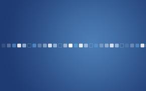 Обои креатив, кубы, кубики, минимализм, квадраты, голубой фон