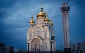 Картинка Церковь, Хабаровск, WVTM photo, Площадь Славы