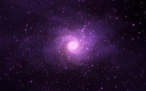 Обои star, violet lights, cosmos