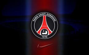 Картинка футбол, Франция, Париж, Paris, France, Nike, football, Paris Saint-Germain