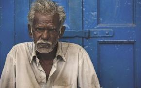 Картинка poverty, diretc gaze, hard life, older man