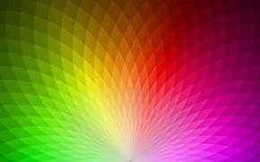 Обои цвет, радуга, спектр