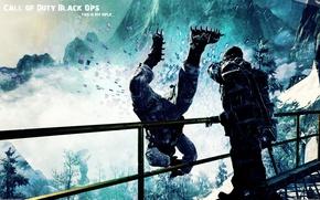 Картинка падение, удар, call of duty, выкинул, cod:bo, black ops