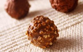 Обои food, candies, десерт, конфеты, dessert, сладкое, chocolate, орешки, nuts, sweet, еда, шоколад, 1920x1200