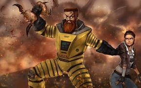 Картинка Иван Космобайкер, Half-Life 2, Headcrab, Alyx Vance, Valve