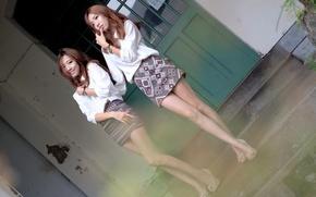 Обои стиль, девушки, одежда, азиатки, восточные
