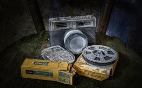 Картинка фотоаппарат, плёнка, Kodak