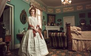 Картинка девушка, комната, винтаж, Victorian Journey