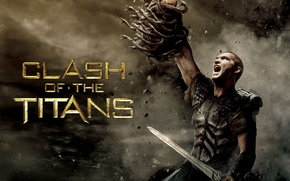 Обои Legendary Pictures, Clash of the Titans, Битва Титанов