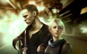 Картинка resident evil, biohazard, sherry birkin, mercenary, jake muller
