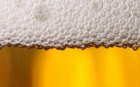 Картинка пена, макро, пиво