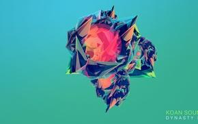 Картинка абстракция, фон, Justin Maller, OWSLA, KOAN SOUND, ElectronicGlitch