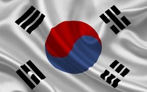 Картинка флаг, Южная Корея, south korea