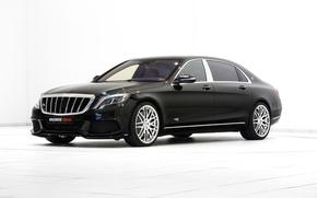 Обои X222, Brabus, Coupe, Mercedes-Benz, мерседес, купе, S-Class