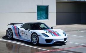 Картинка Porsche, Spyder, 918, Martini