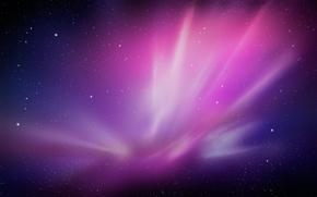 Обои галактика, феолетовый, космос, туманность