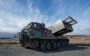 Картинка Artillery and Air Defence, 227mm, M270, Rocket Artillery, Defence