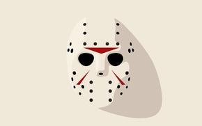 Картинка Friday 13th, Hockey mask, Jason