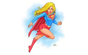 Картинка art, comics, supergirl, dc universe, Kara Zor-El