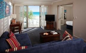 Картинка дизайн, дом, стиль, интерьер, коттедж, жилое пространство, accommodation along the coast in Western Australia