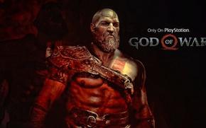 Картинка game, fighter, armor, blizzard, Kratos, God of War, survivor, leather, Spartan, blade, knife, warrior, hunter, …