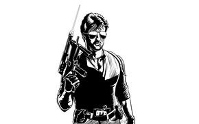 Картинка оружие, очки, Кобра, Сильвестр Сталлоне, Cobra