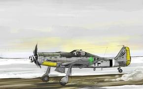 Картинка aircraft, war, airplane, aviation, dogfight