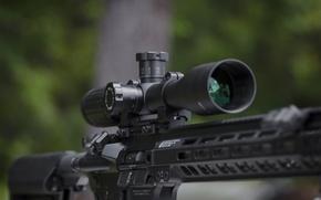 Картинка макро, оптика, штурмовая винтовка
