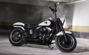 Картинка дизайн, стиль, мотоцикл, форма, байк, Harley-Davidson