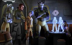 Картинка герои, animated series, Star Wars Rebels, Звездные войны Повстанцы