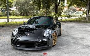 Обои машина, авто, 911, Porsche, Порш, wheels, диски, auto, Vossen Wheels